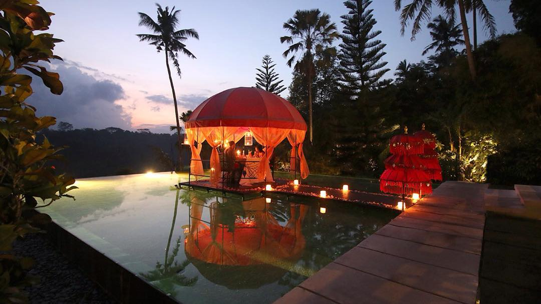 6 Romantic Bali Villas With Private Infinity Pools And